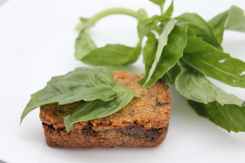 basil pesto mini loaf