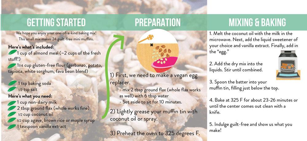Gluten-free, refined sugar free, dairy free Almond joy small mix instructions