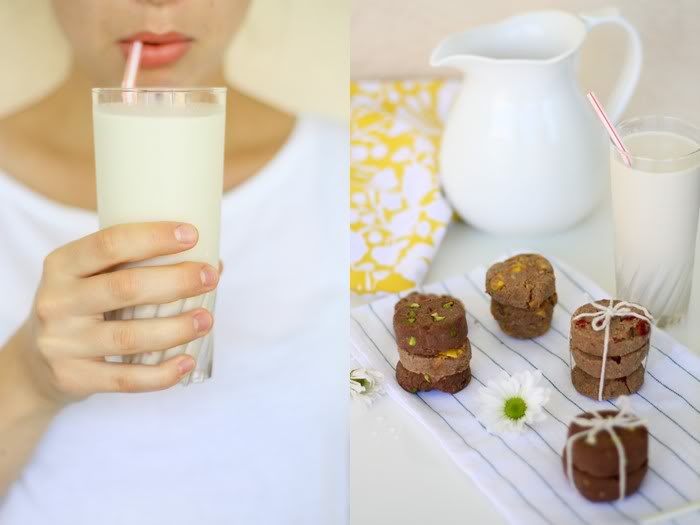 Golubka Kitchen dairy-free, refined sugar free, grain-free almond milk and almond cookies