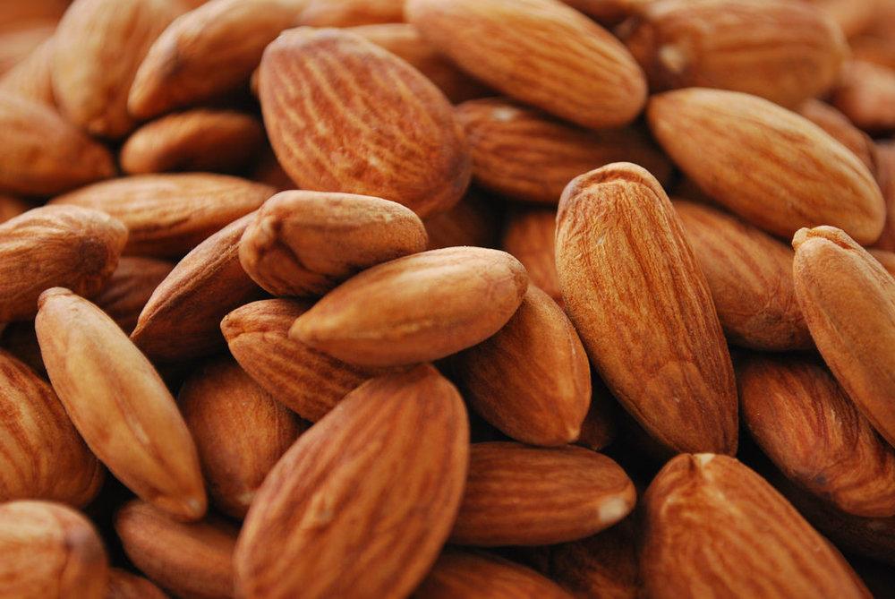 organic almond pulp