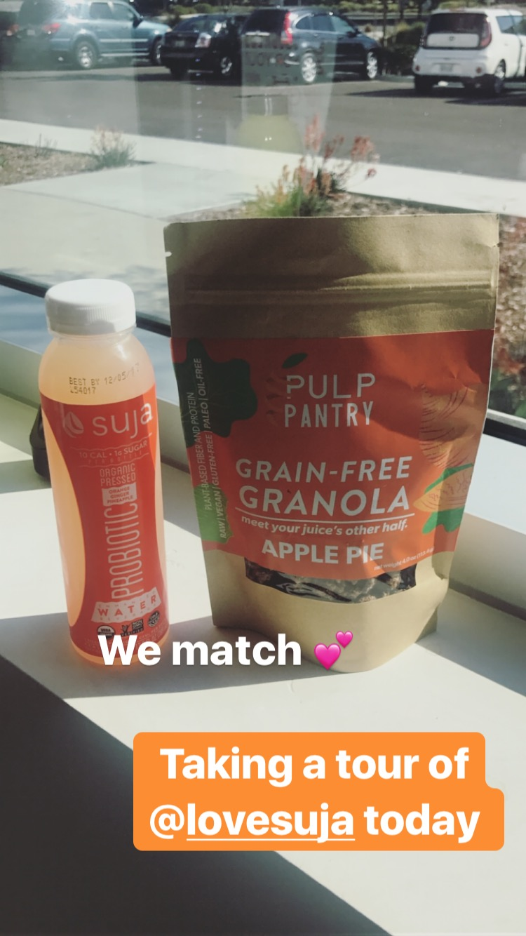 suja juice and pulp pantry