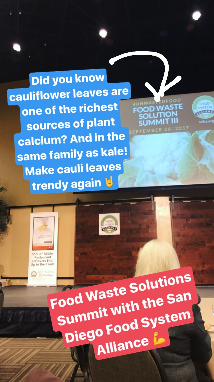 Food Waste Solutions Summit with the San Diego Food System Alliance