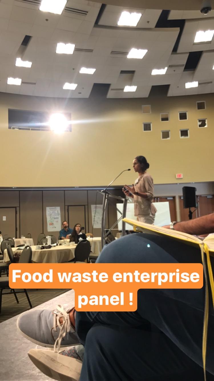 food waste enterprise panel of entrepreneurs