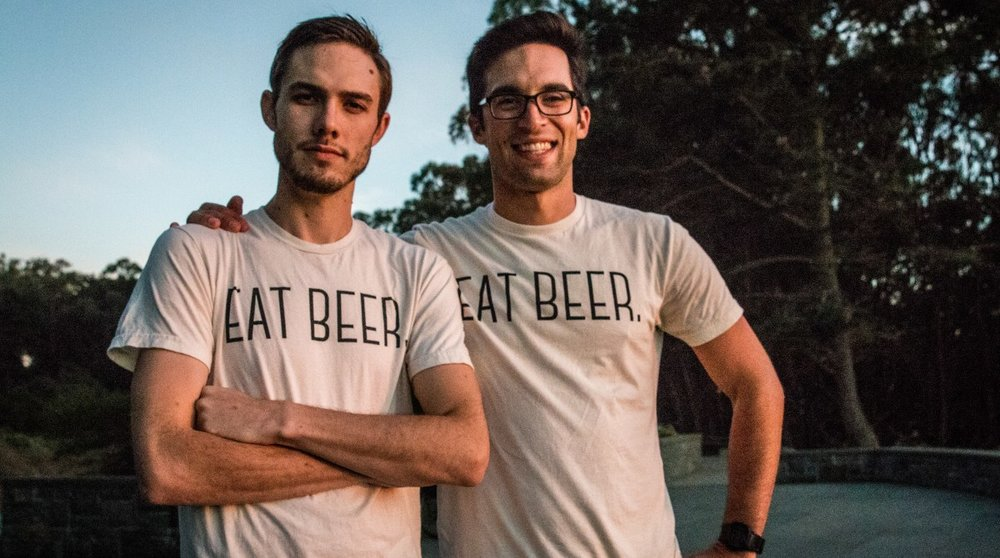 Jordan (left) and Dan (right), co-founders of Regrained.