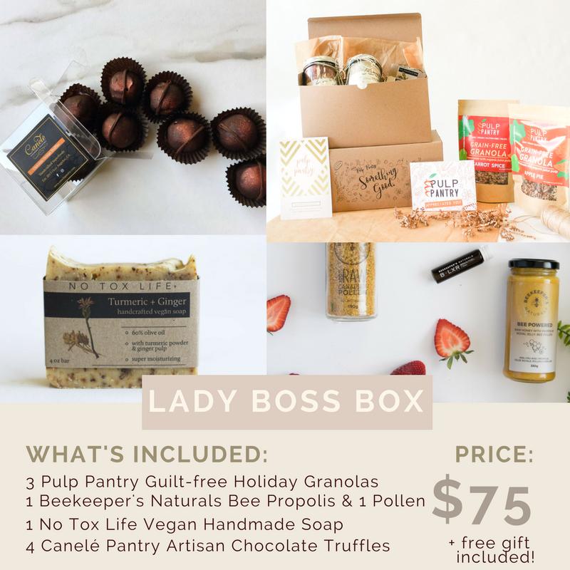 lady boss female entrepreneur gift box