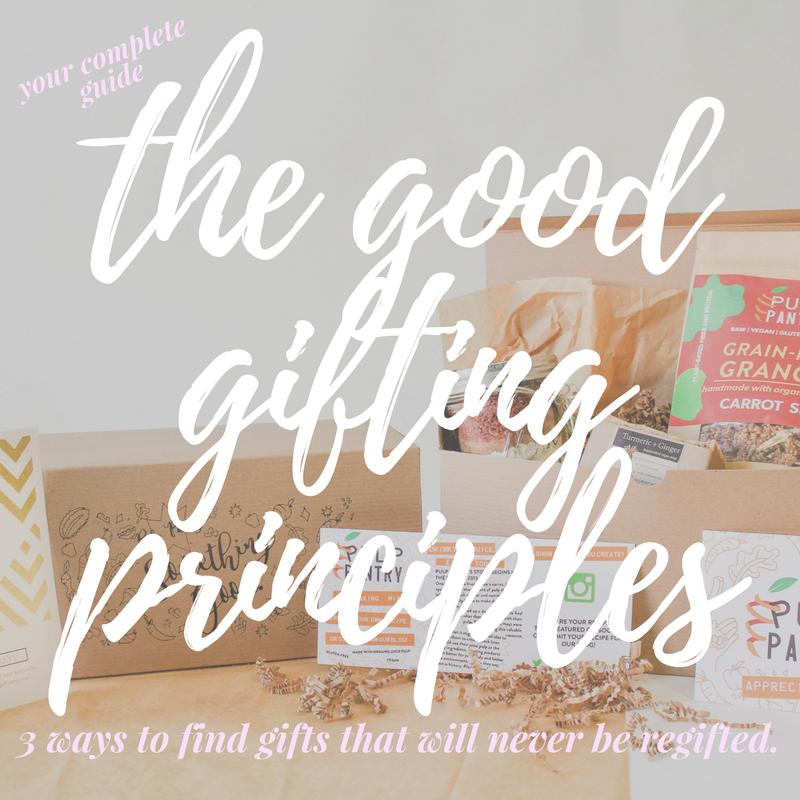good gifting principles