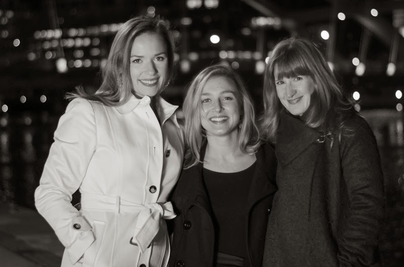 From left: Laura Fox, Ana Liss, and Tanya Zwahlen