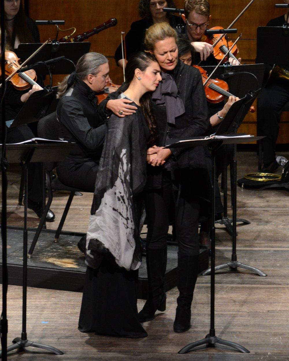 Laetitia Grimaldi and Stephanie Houtzeel in Opera Lafayette's CERERE PLACATA.jpg