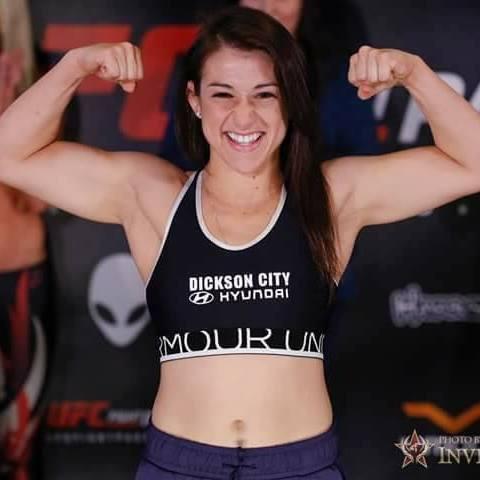 Herica Tibrucio - Pro Invicta Fighter