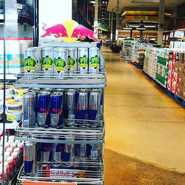 Real Power - No Bull Another location where they removed red bull and placed Cool Cane instead. Our slogan is working. #realpowernobull #sugarcanejuice #sportsdrink #canewater #noredbull #naturalenergy #naturalhydration #vegan #sports #athlete #rumncane