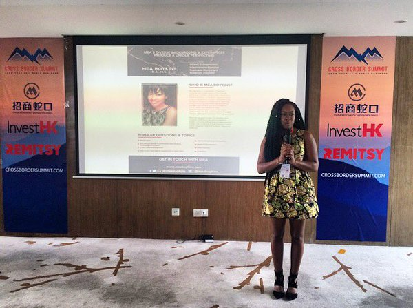 Speaking about Cross Cultural Management in Shenzhen, China