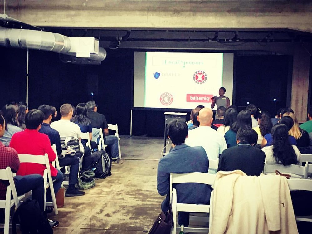 Speaking at StartUp Weekend in San Francisco