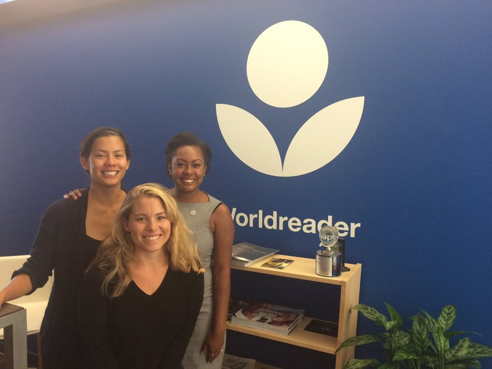 Happy Clients at WorldReader