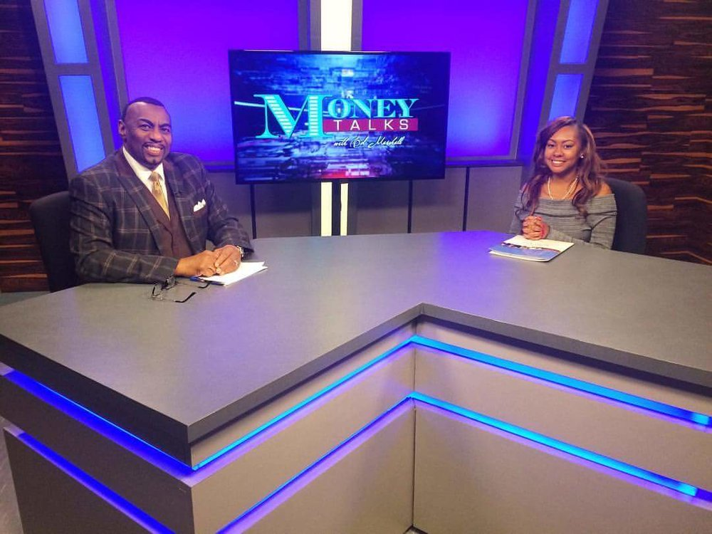 "Live on ""Money Talks"" with Host Ed Marshall (SVP Public Relations/Marketing Director)"