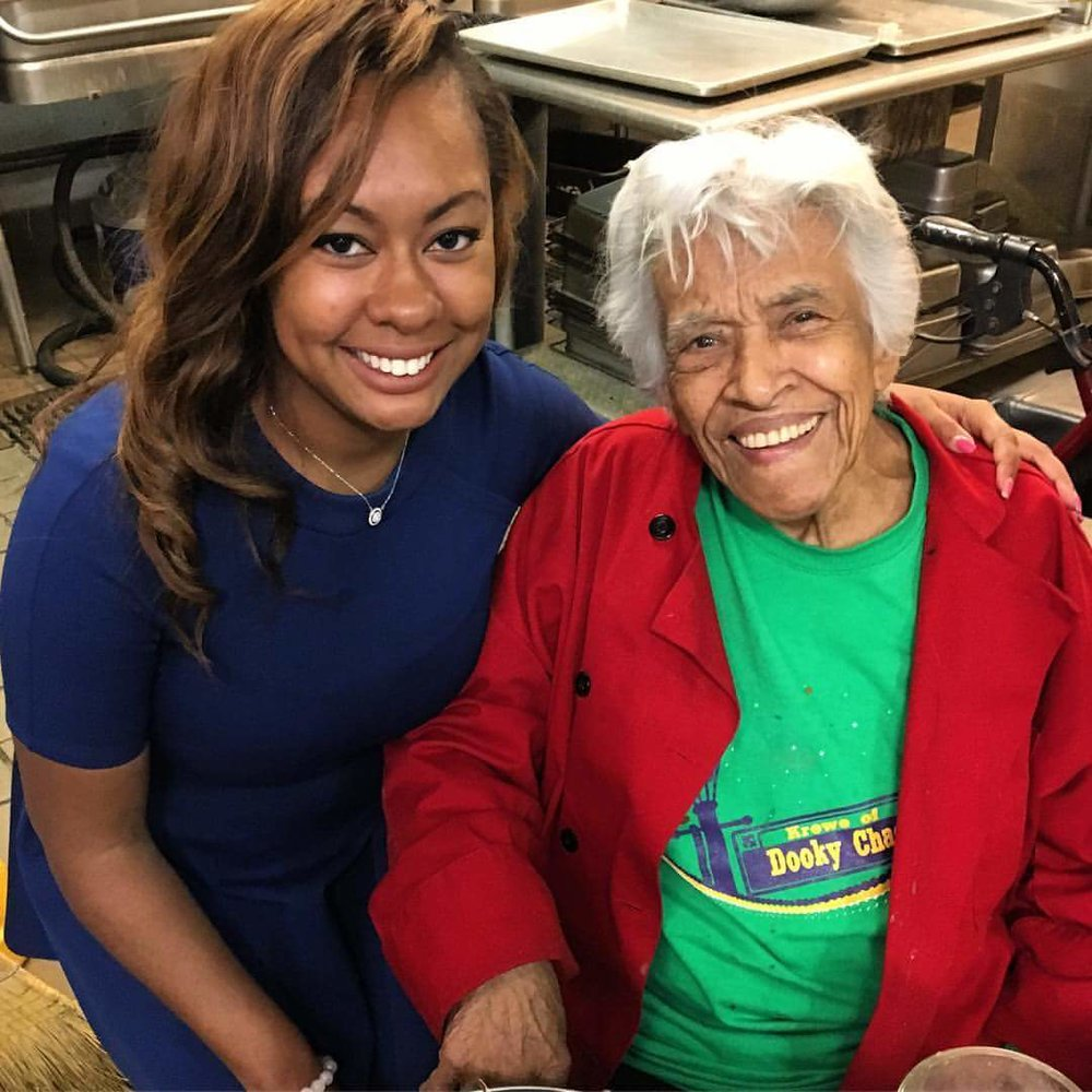 "In the Kitchen of the Historically Famous ""Dooky Chase"" Restaurant with New Orleans Chef, Author & TV Personality Leah Chase"