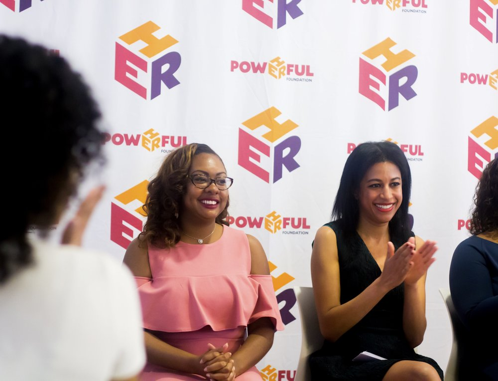 Panelist at Soledad O'Brien's Powherful Conference at Spanx Headquarters