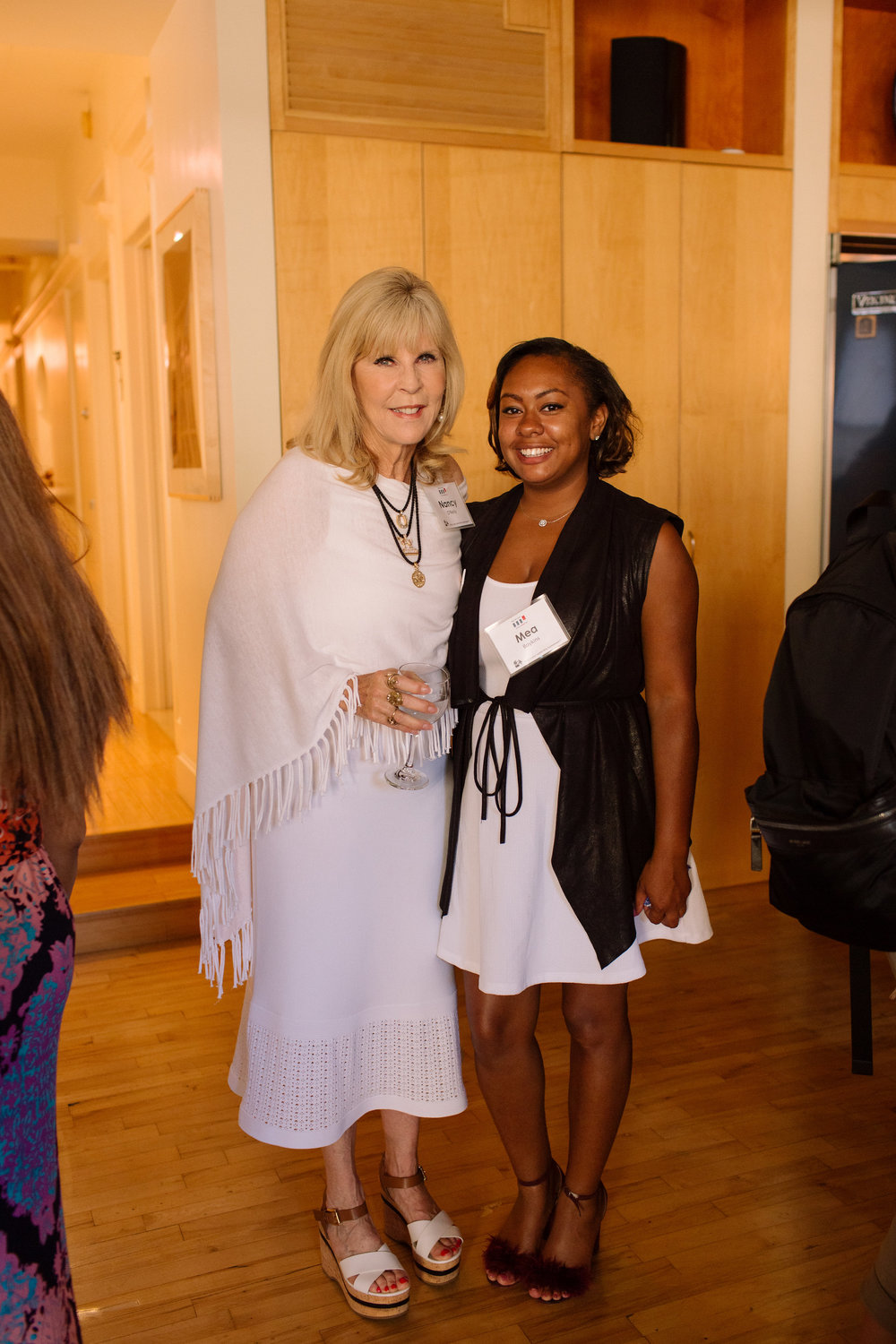 Networking with Dr. Nancy O'Reilly at Take the Lead's Event in NYC