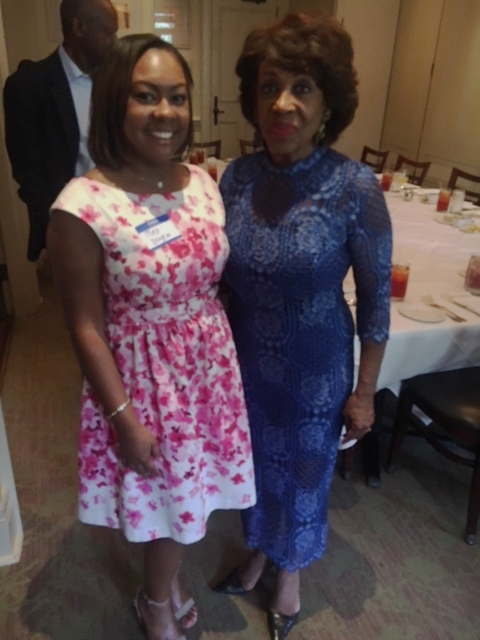 Brunch with Congresswoman Maxine Waters
