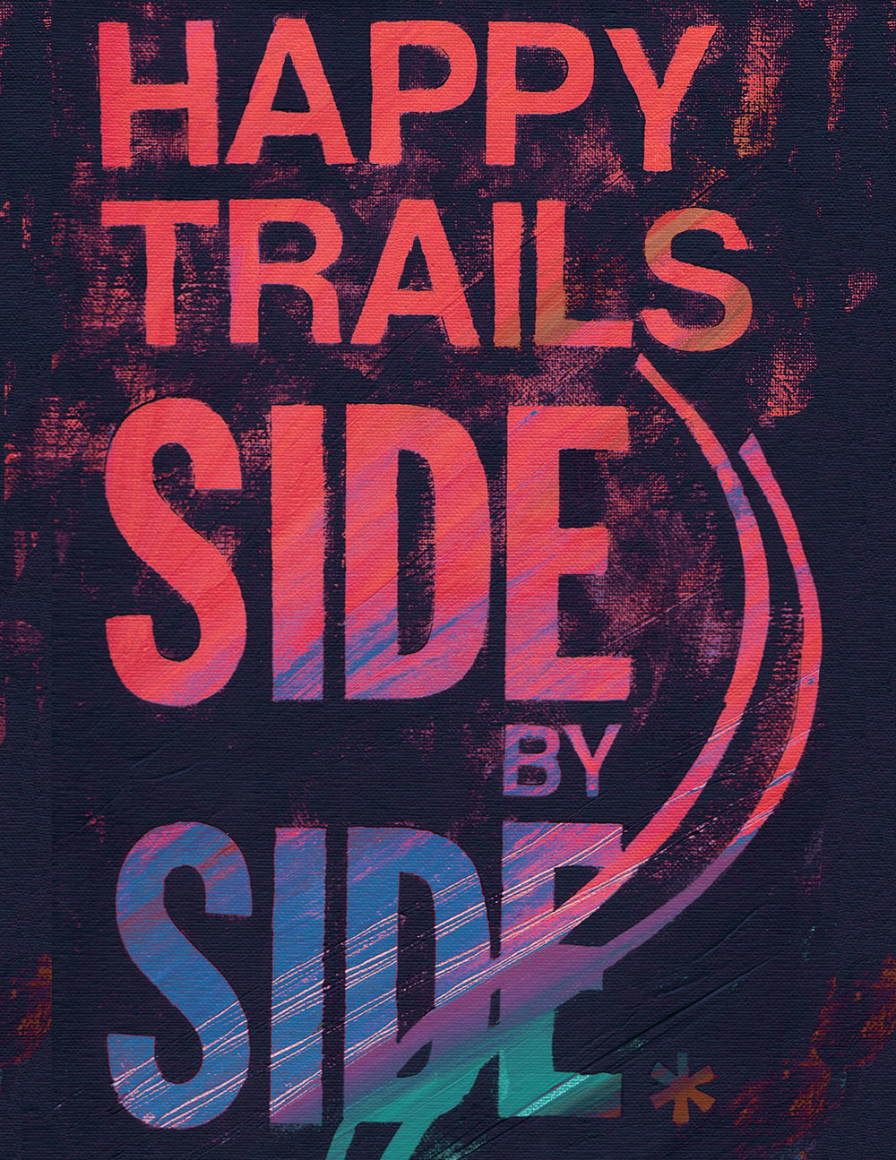 Happy Trails Side By Side