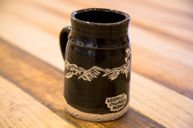 Tall Leadville, CO Mug