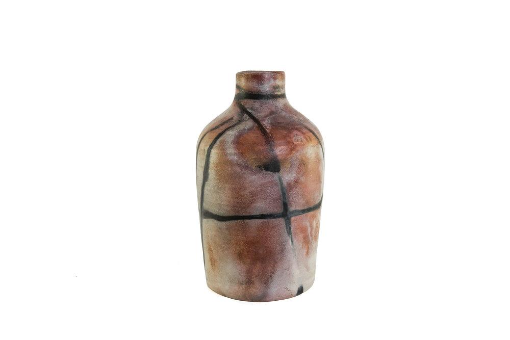 Red OSLO Vase