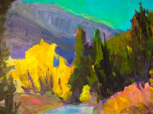 Colorado Landscape Painting