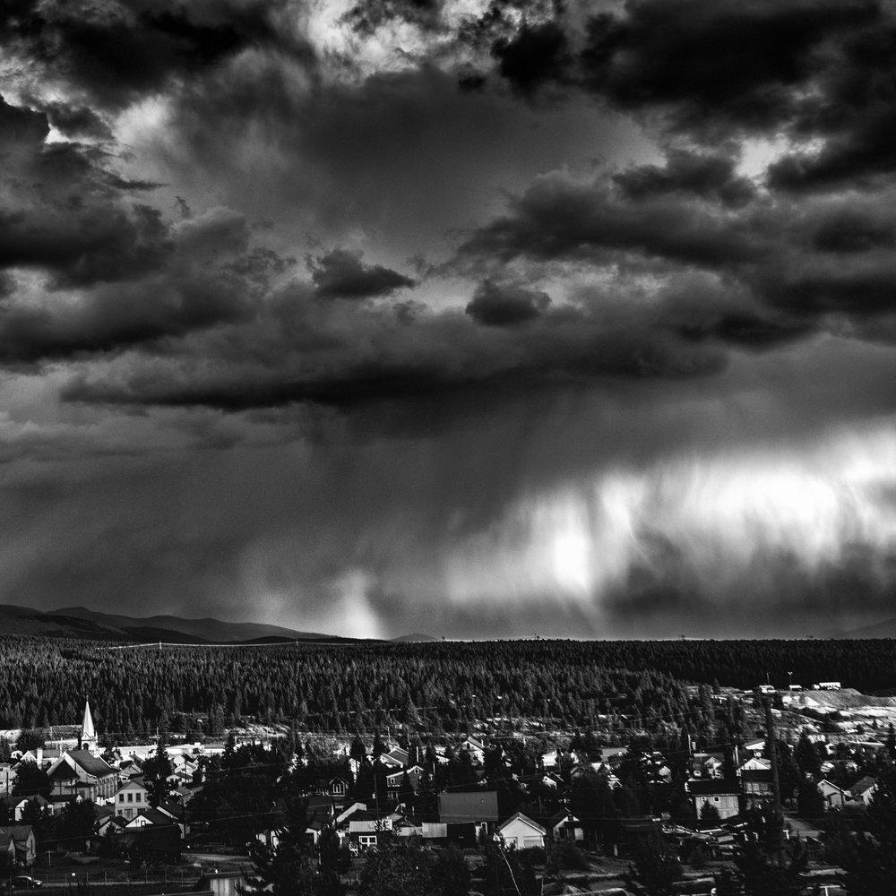 Town Summer Storm