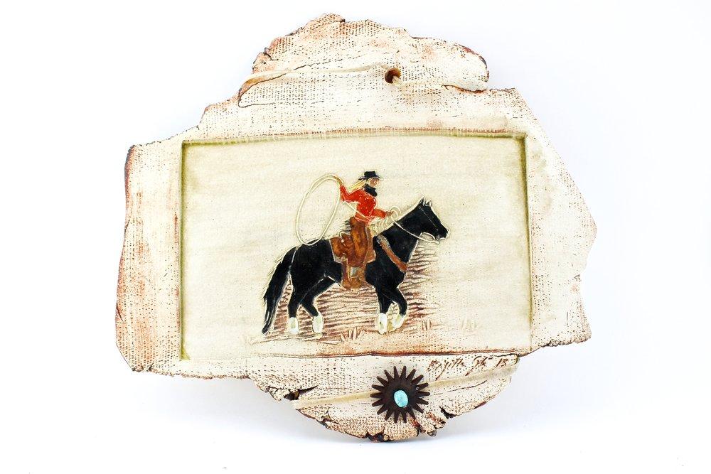 Ropin' Cowgirl