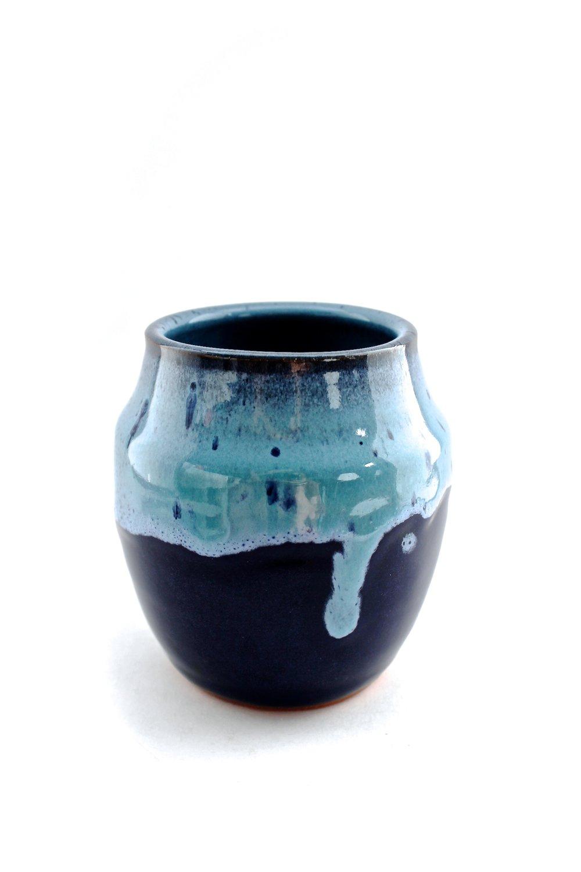 Blue Duo Vase