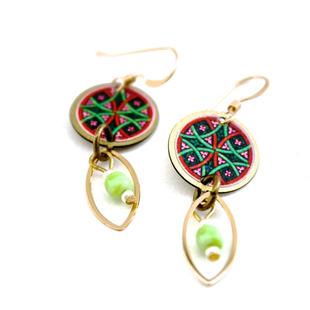 Fun Patterned Earrings