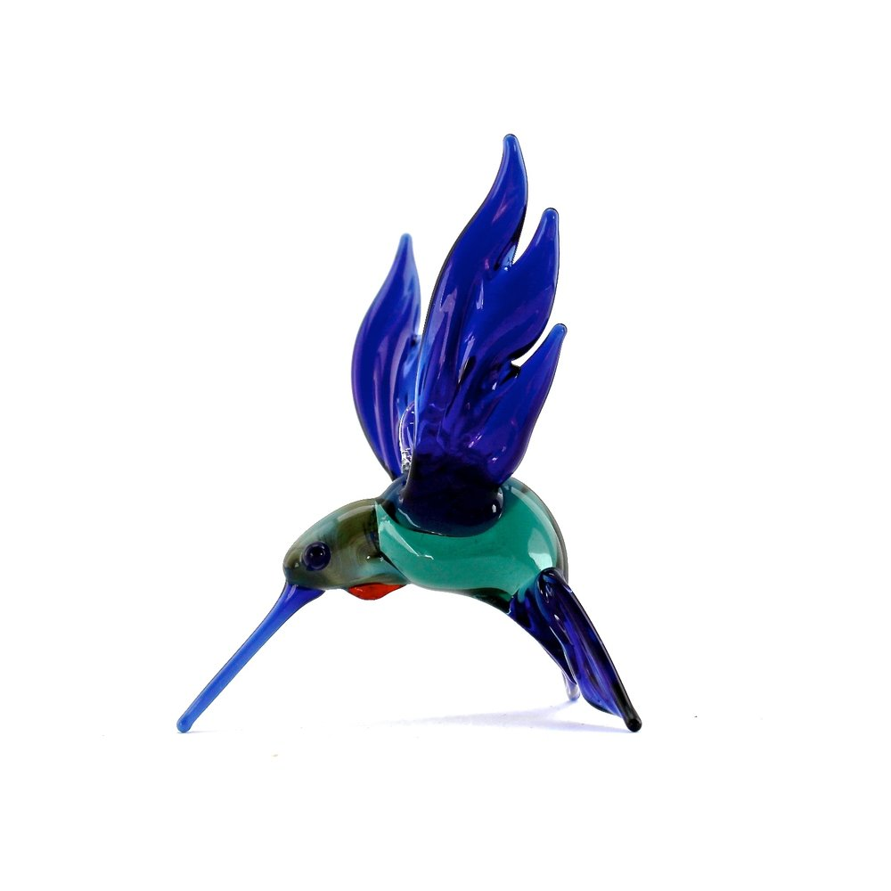 Hummingbird | Blue & Green