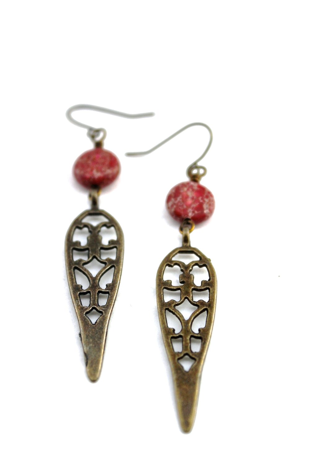 Red Jasper & Brass | Fairlee