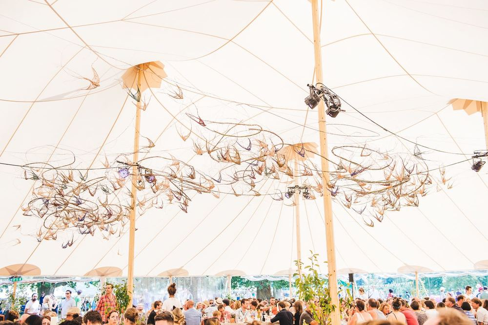 GULP Installation, The Wilderness Festival, August 2015