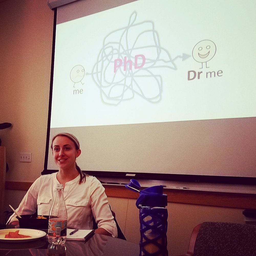 Christine Baugh untangles the PhD process