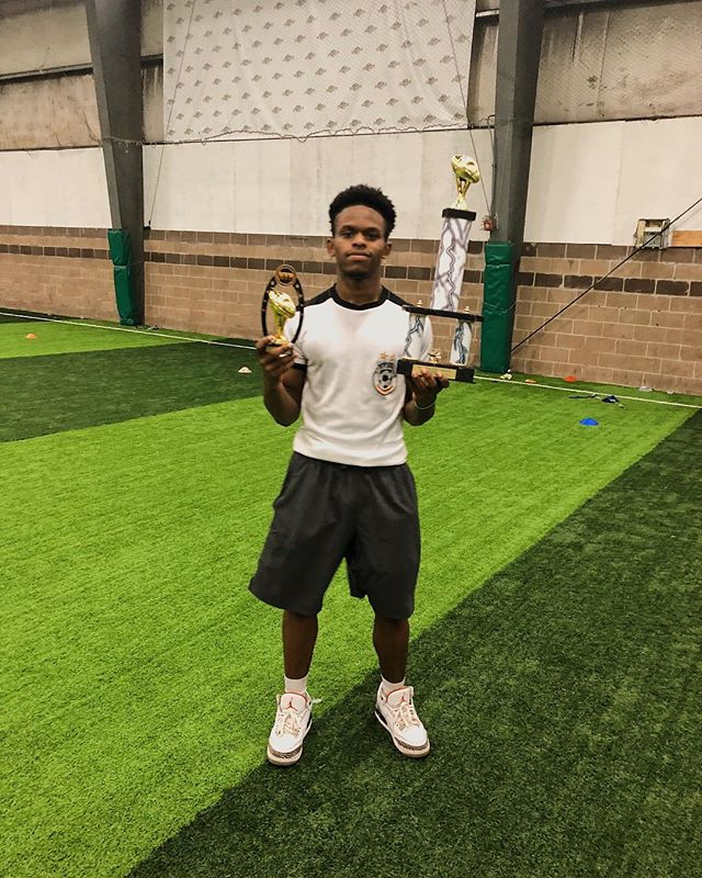 Congratulations to Quinton Smith from the Blackhawks for winning the MVP honors for the 21st MAP Flag Football Tournament