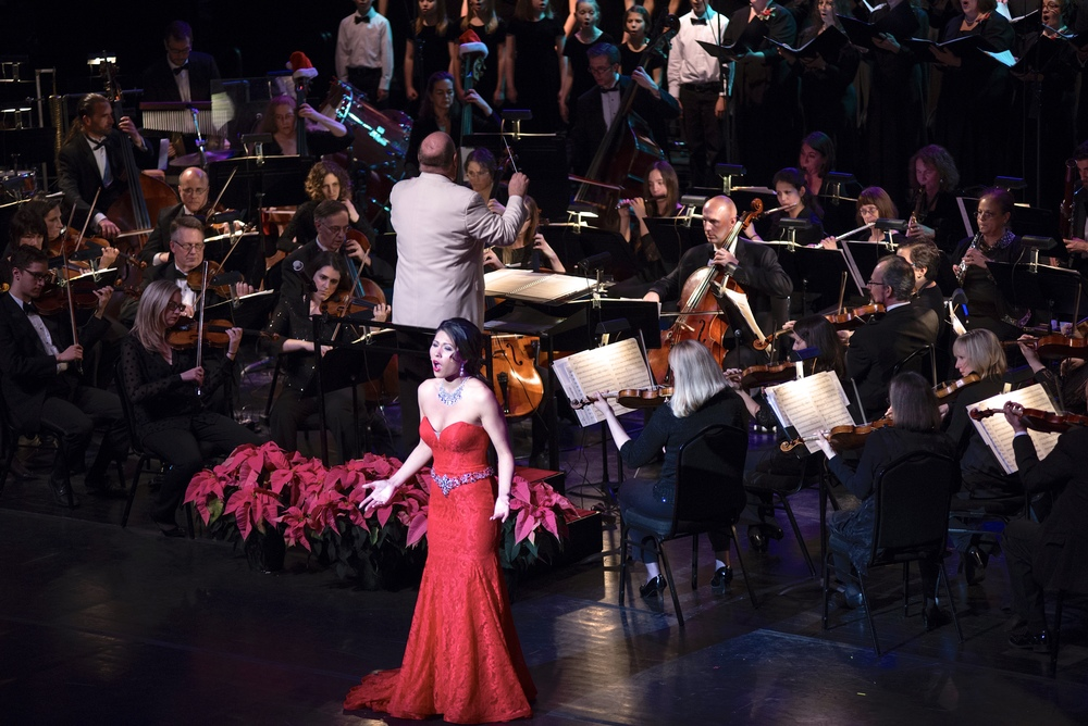 """Magical Holiday Concerts"" with the Elgin Symphony Orchestra, December 2015"