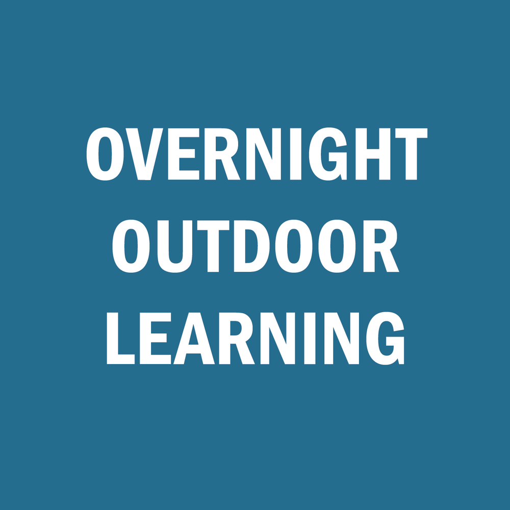 2-5 night immersive outdoor science camp.