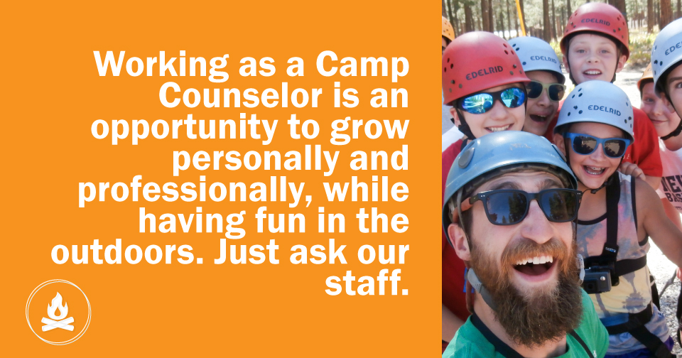Summer Camp Counselor SNJ Employee interview