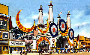 For more lunacy click on the image to see Luna Park Series blog post.