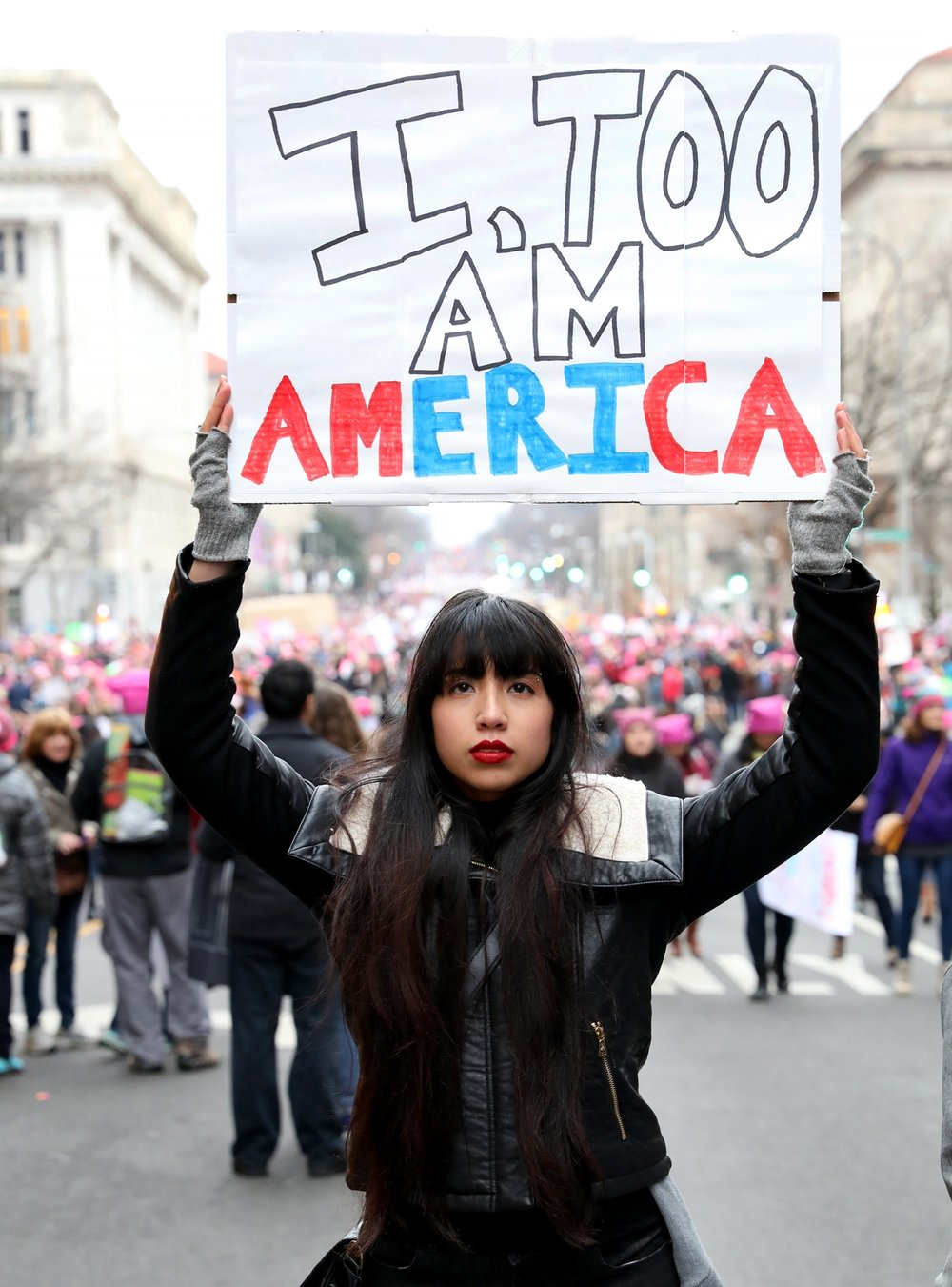 I, Too Am America | The Women's March | Washington, DC | January 21, 2017
