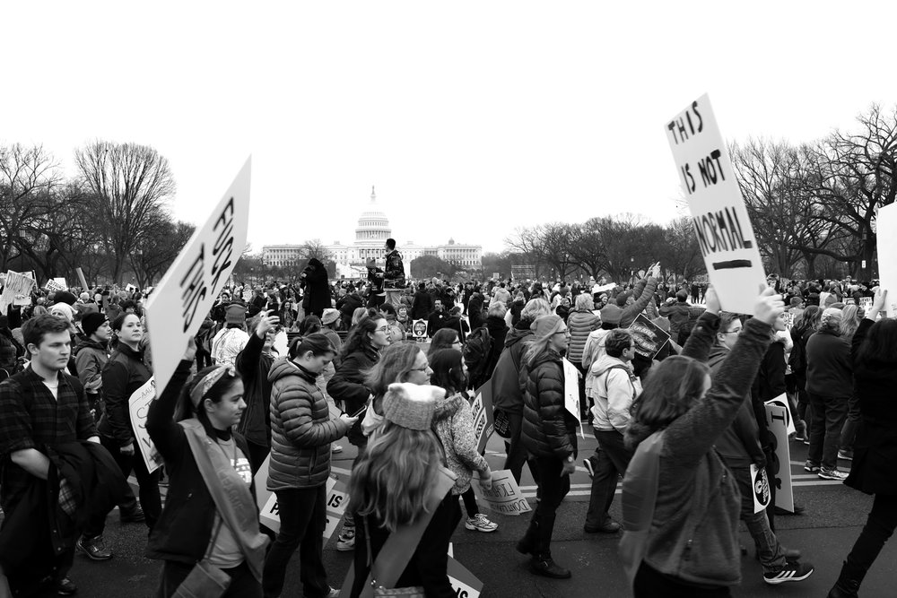 The Capitol |  The Women's March | Washington, DC | January 21, 2017