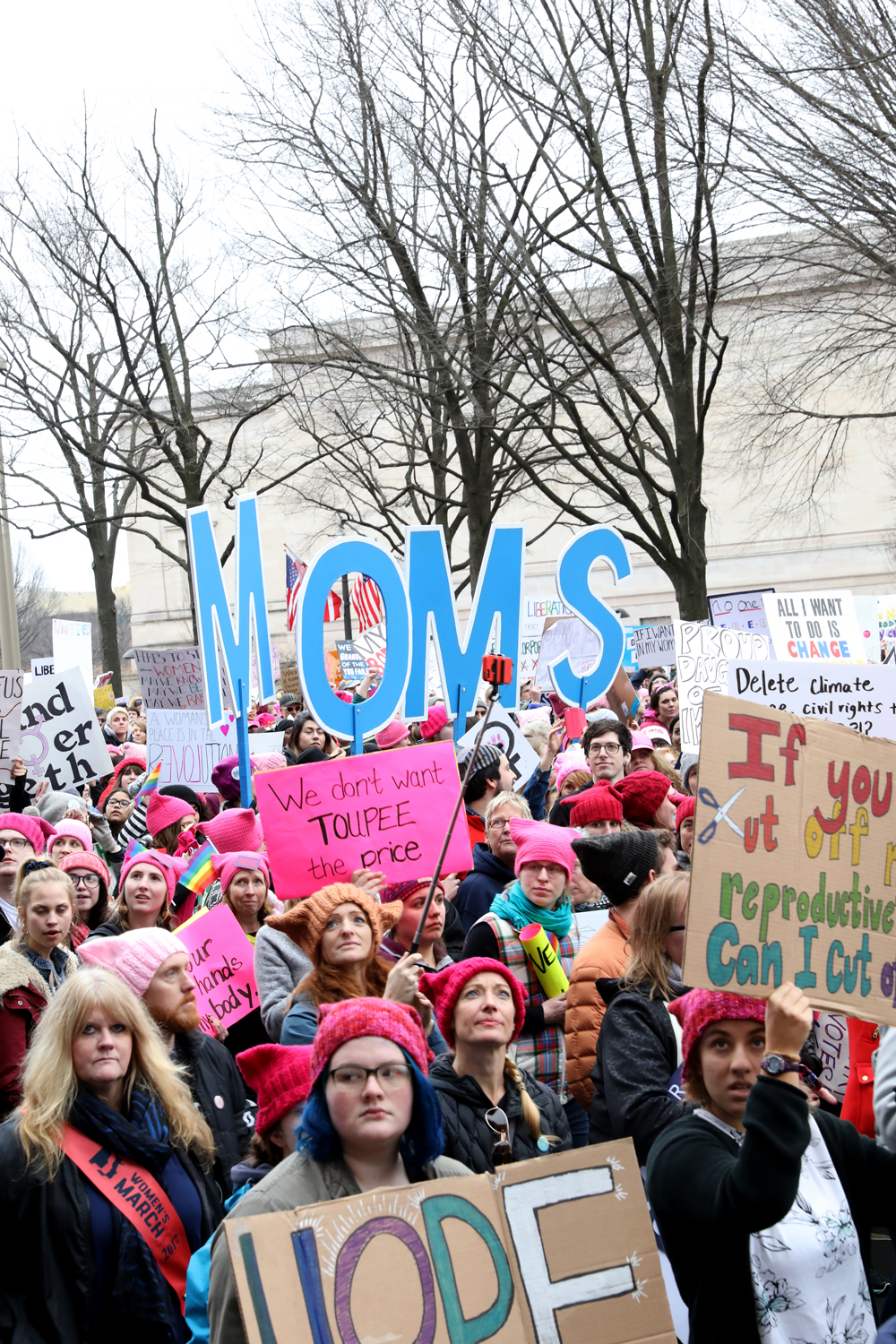 Moms |  The Women's March | Washington, DC | January 21, 2017
