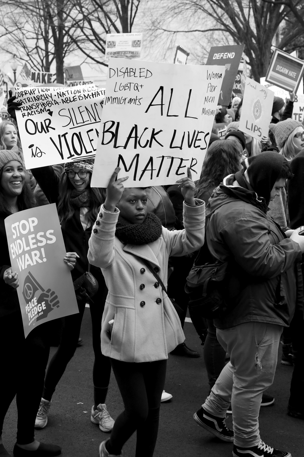 All Black Lives Matter | The Women's March | Washington, DC | January 21, 2017