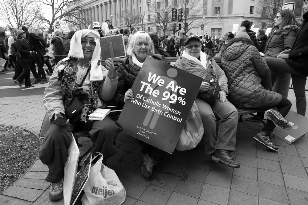 We are the 99% | The Women's March | Washington, DC | January 21, 2017