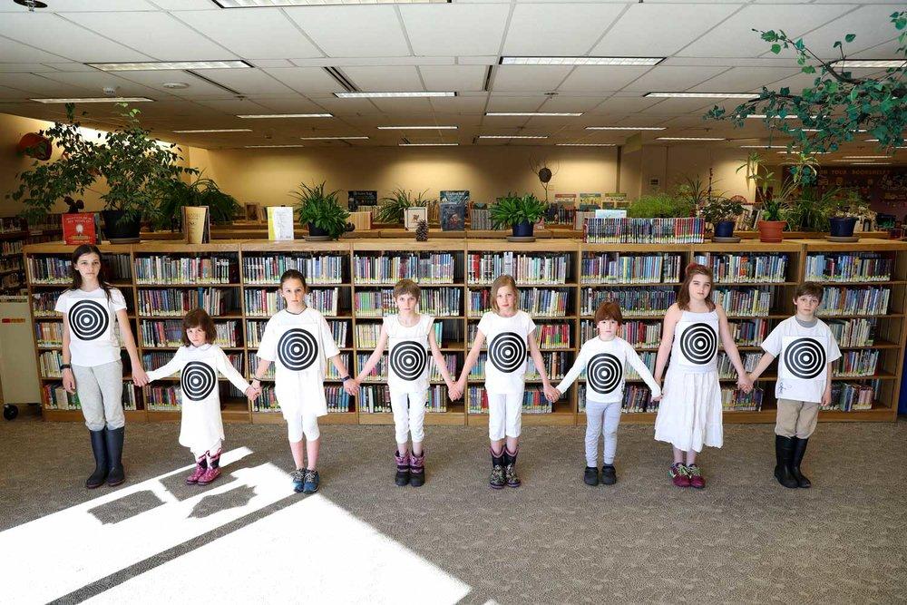 I Am Not a Target, Noel Wien Library, Fairbanks, Alaska 2017