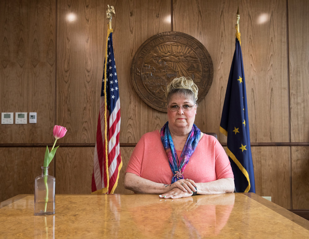 Joy Johnston, Office of the Governor Receptionist