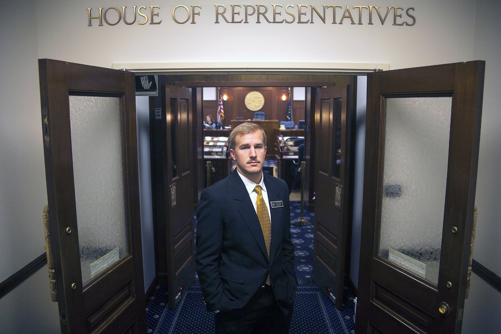 Ryan Johnston, House of Representatives Page