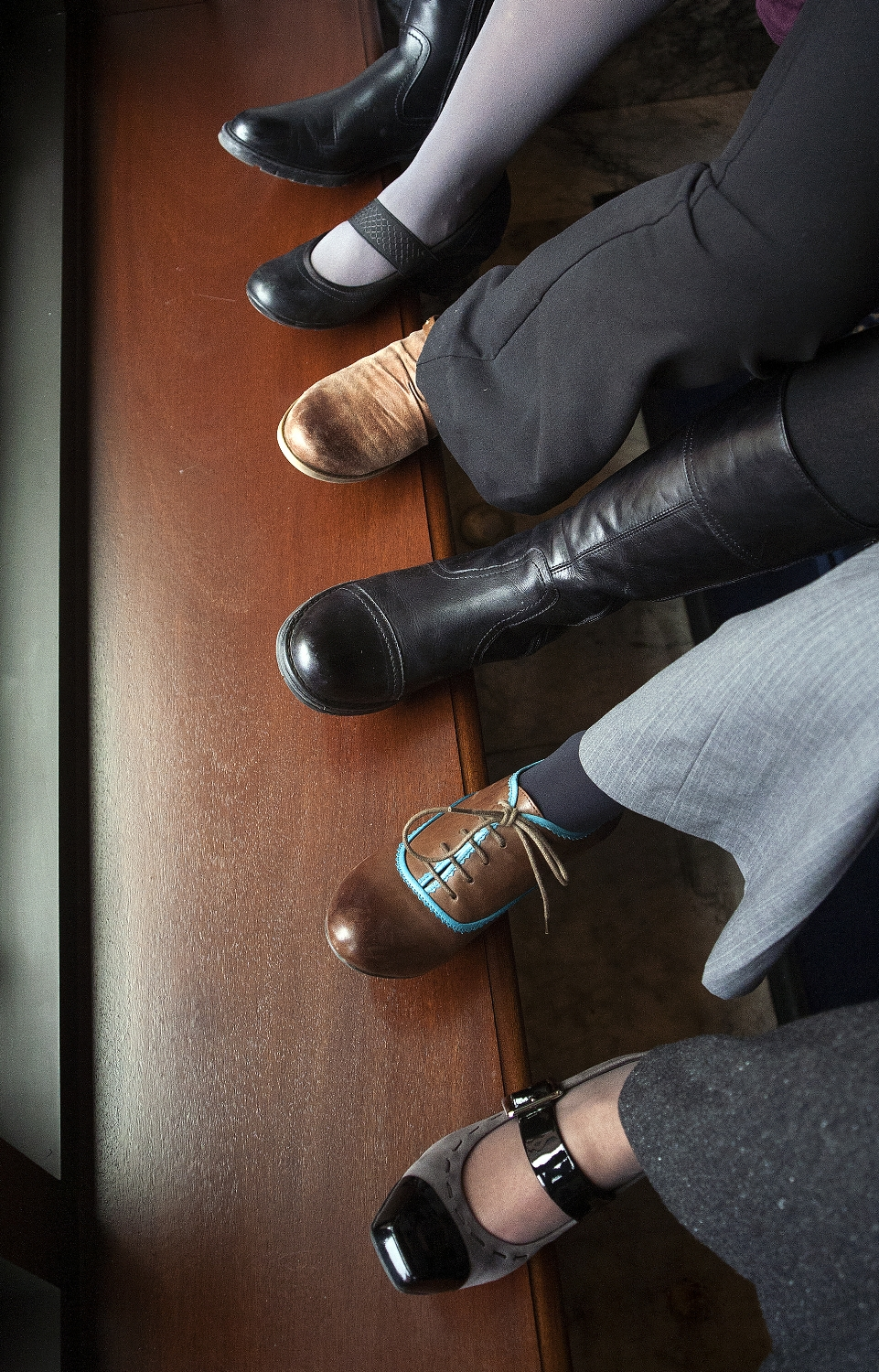 Shoes of the Legislature Chief Clerk Staff
