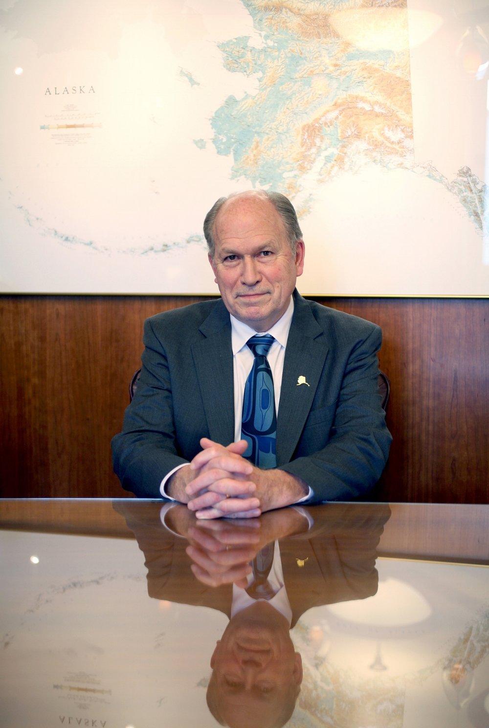Bill Walker, Governor of Alaska