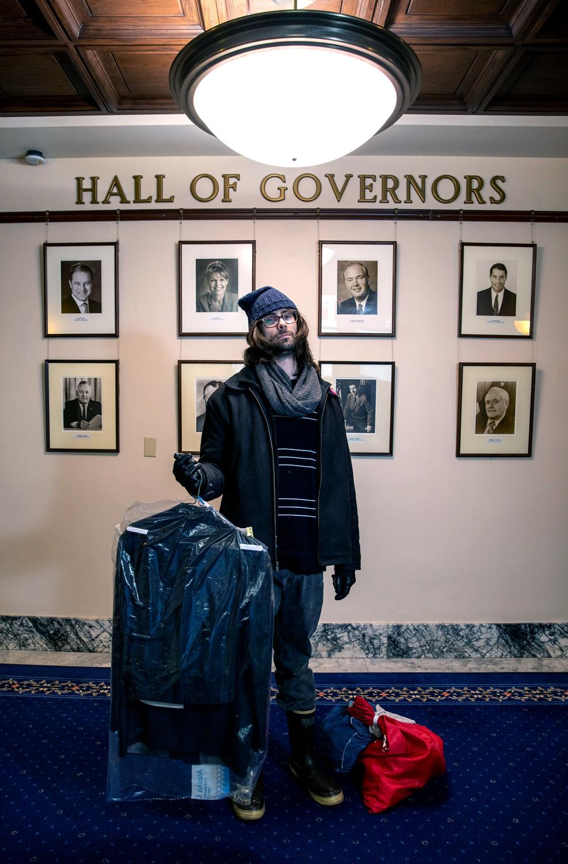 Dylan Mores, Driver for Alaska Laundry
